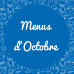 Menus Octobre 2016